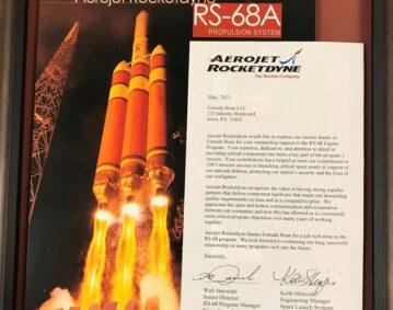 Wertschätzung von Aerojet Rocketdyne.